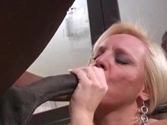 Alexis Golden shows this hard dick with respect to her throat