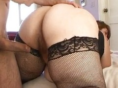 Horny BBW Veronica Bottoms riding cock