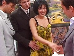 Rita Cardinal -Wife gangbanged forth snack bar