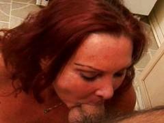 Mature sexy hardcore blowjob