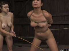 two mistresses take it on the lam slave
