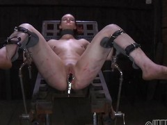 slave non-specific distressing with speculum