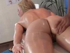 Oil massage turned to sex fuckfest