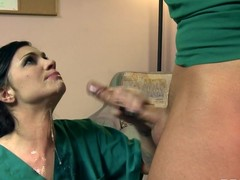 Sexy Water give Takes Advantage Of Male Nurse  DA