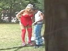 Monique lady-boy shacking up guy on clip