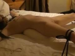 Maleen the small Norwegian whore take bondage