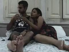 Non-Professional Indian Jugs Honeymoon