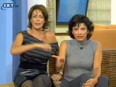 Upskirt pantyhose brunette chiefly tv