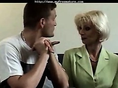 Eva Delage Fucked Off out of one's mind Reporter adult mature porn granny ancient cumshots cumshot