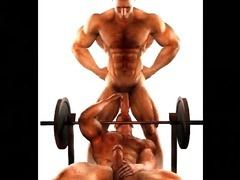 3D Muscled Gay Angels!