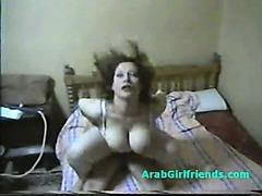 Fat ass egyptian whore fucks by boyfriend
