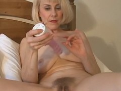 Sweet Nurturer Hazel May Plays With Along to brush Soft Pussy