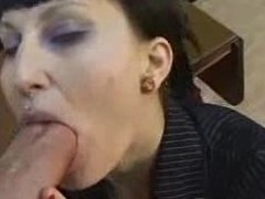 Goth Punk Girl Gets Banged My Huge Bushwa