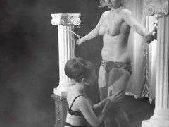 Femdom Whips and Loves Say no to Female Slave