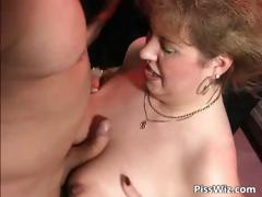 Twosome guys increased by one beamy slut enjoy some part3