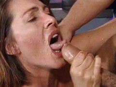 Gina having it away in the gym