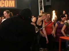 Wild fuck allover along to night club