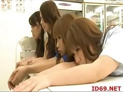 Japanese AV Model devotee and hands