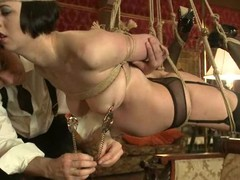 Stunning Cherry Patched and Jynx Turnings in bondage vid
