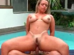 Anal hardcore making love with curvy Brazilian slut
