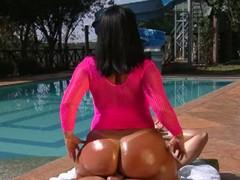 Obese ass brazilian darlene riding hard