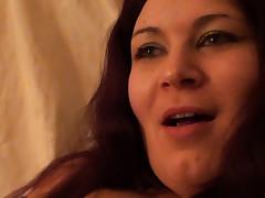 Cora Masturbates