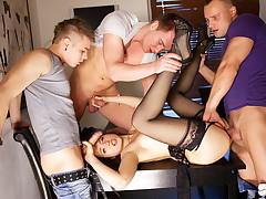 Bang porno action for slender Taissia-Shanti