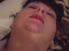 Amatuer Aussie BBW Pornstar Amy King fucking my dirty pussy encircling a new toy