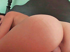 Dillion Harper receiving long thick pecker in her petite pussy